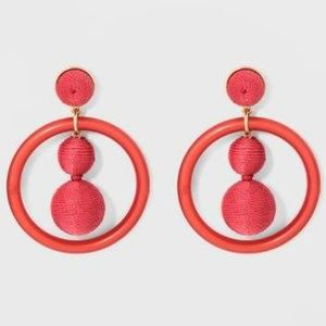Sugarfix Whimsical Hoop Earrings